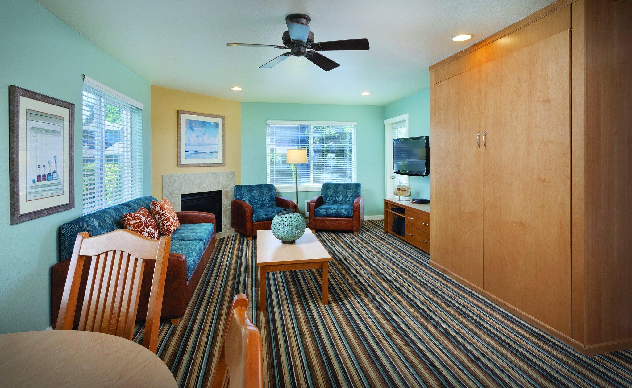 Worldmark Birch Bay Two Bedroom Suite Living Area