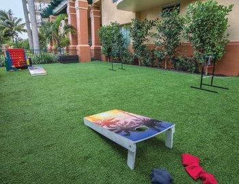 wyndham palm aire exterior game - Palm Aire Garden